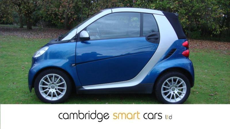 Used Smart Fortwo Cabrio In Cambridge