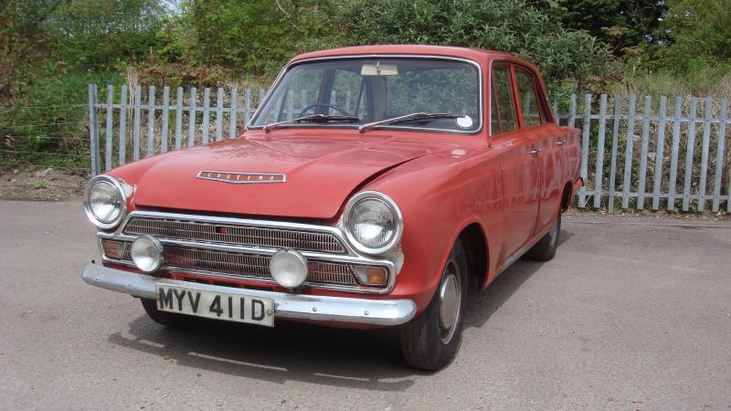 Sold Ford Cortina In Cambridge